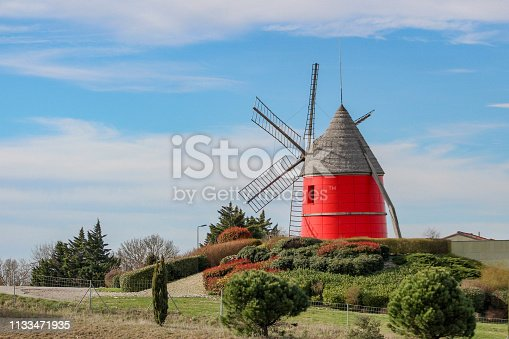 Red mill in my country