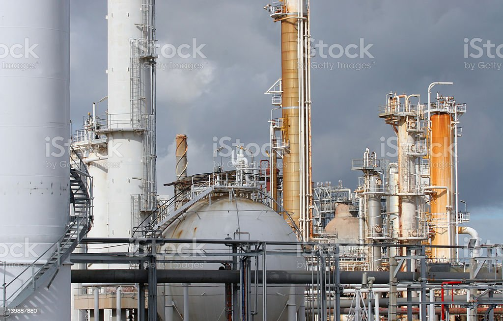 The Refinery royalty-free stock photo
