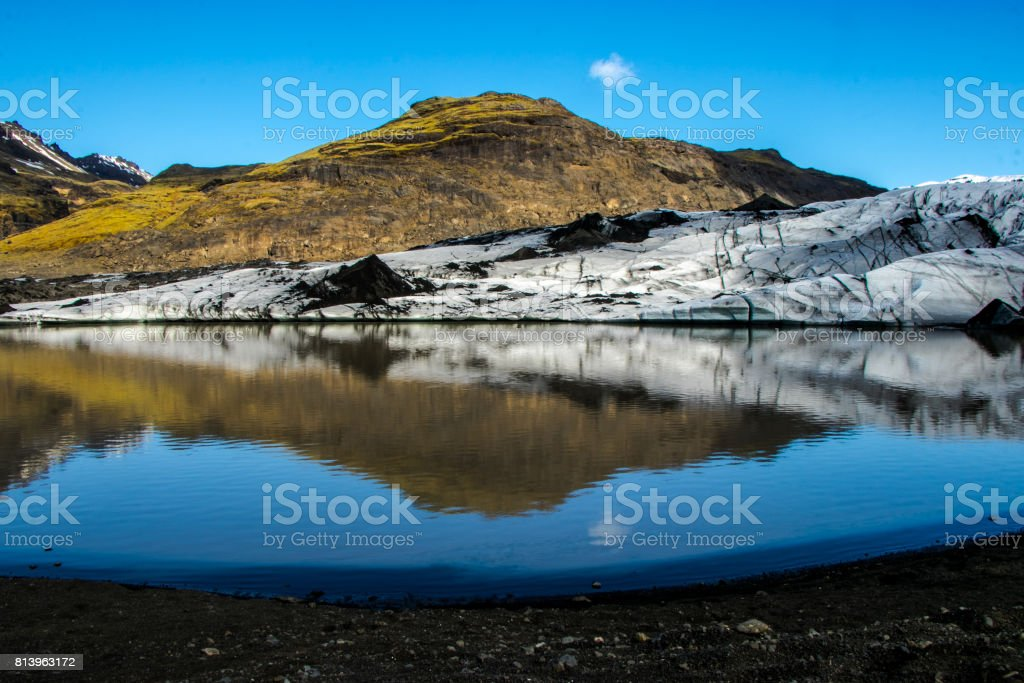 The reflection of nature stock photo