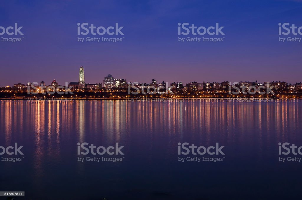 The Reflection of  New York stock photo