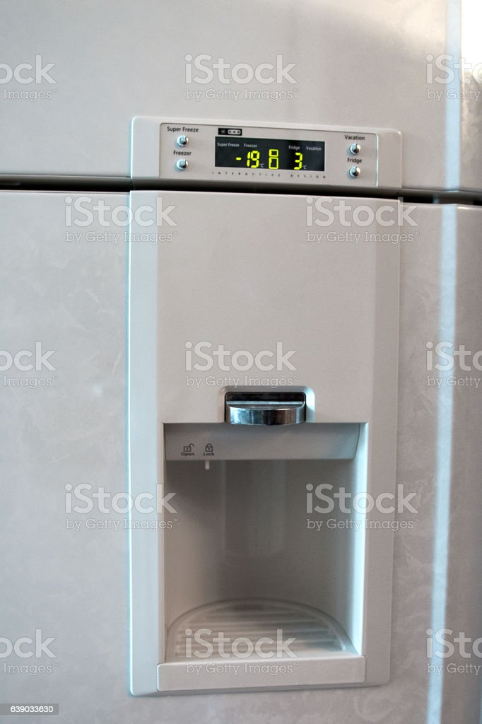 the refrigeration equipment stock photo