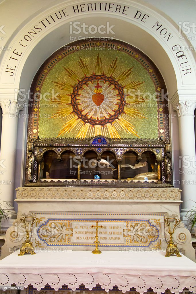 The Relics Of St Margaret Mary Alacoque In Paraylemonial France