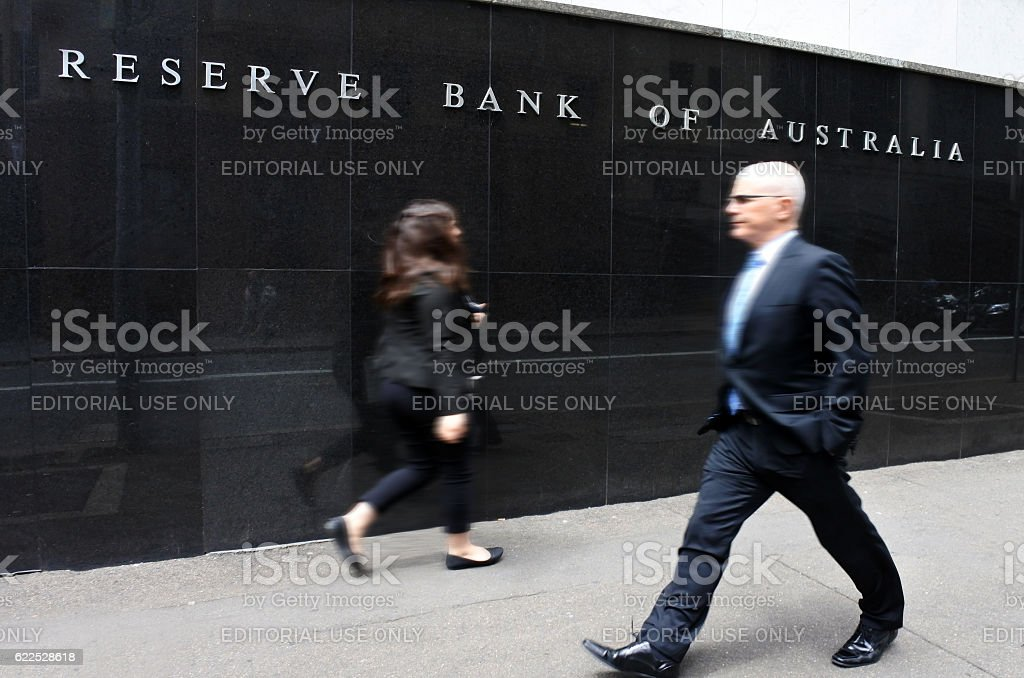 The Reserve Bank of Australia Sydney New South Wales Australia stock photo