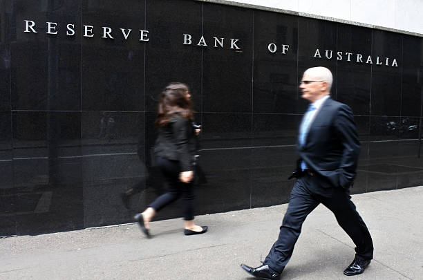 The Reserve Bank of Australia Sydney New South Wales Australia – Foto