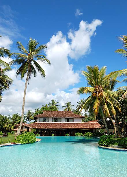 Das restaurant am Swimmingpool, das Bentota, Sri Lanka – Foto