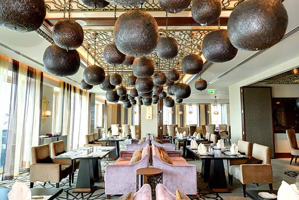 Das restaurant Innenansicht des Luxus-hotel – Foto