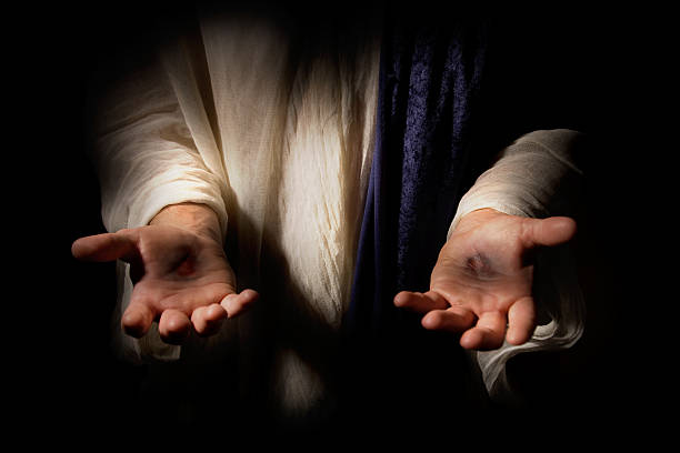 The Resurrected Christ See our other high quality images: scar stock pictures, royalty-free photos & images