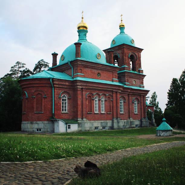 Die Auferstehungskirche. Valaam Insel, Russland. – Foto