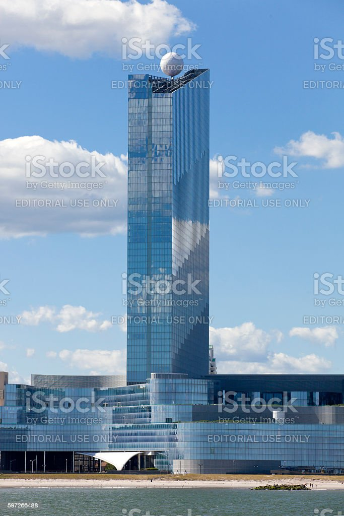 The Revel Casinos in Atlantic City, New Jersey royalty-free stock photo