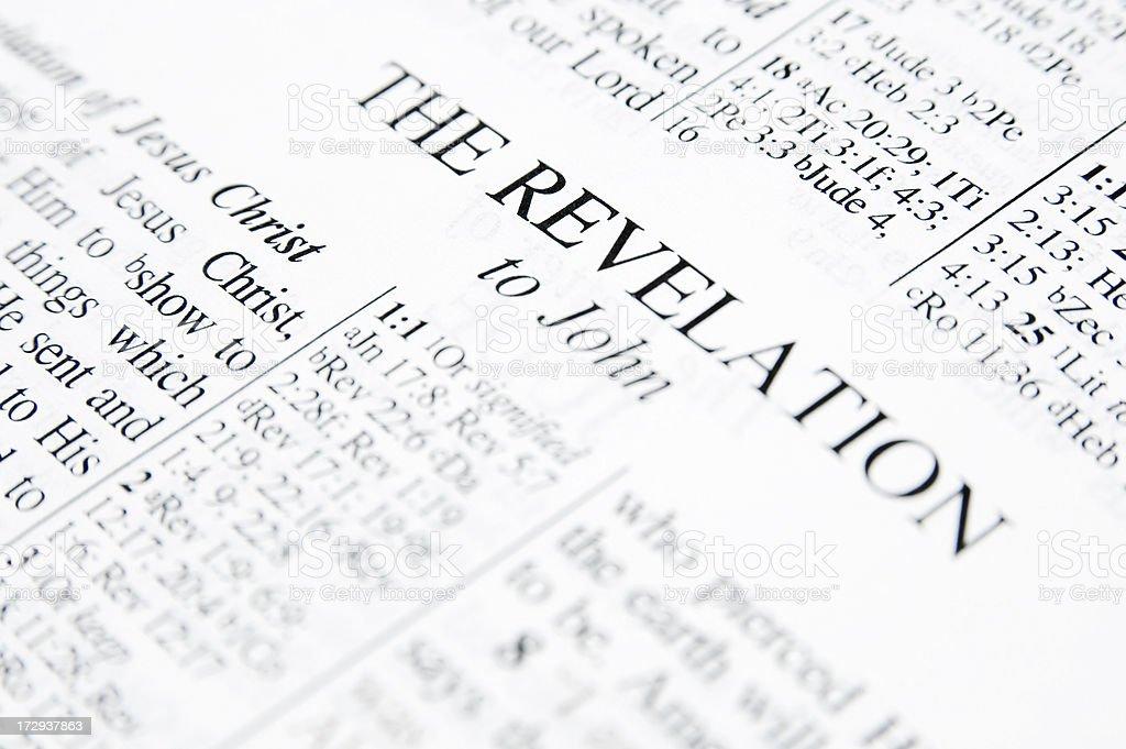 The Revelation royalty-free stock photo