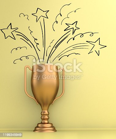 544347868 istock photo The reward for hard working 1199345949