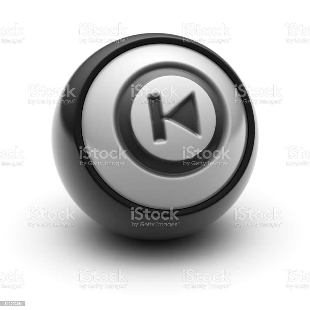 The Rewind Icon stock photo
