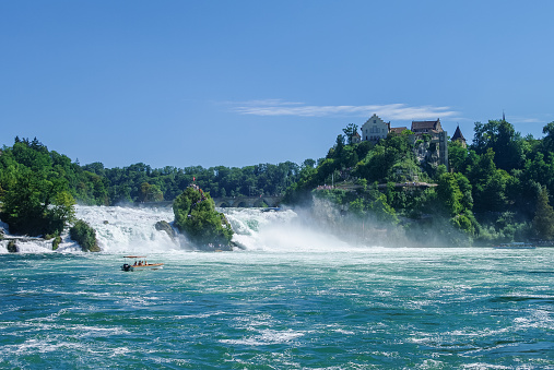 The Rhine Falls is the largest waterfall in Europe, Schaffhausen