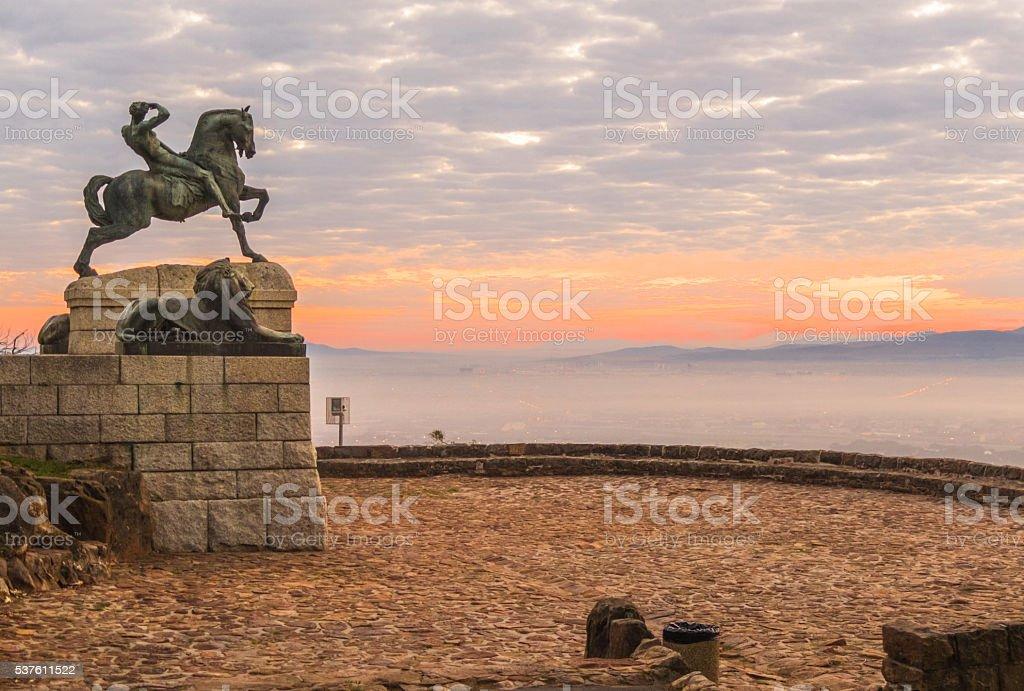The Rhodes Memorial, stock photo