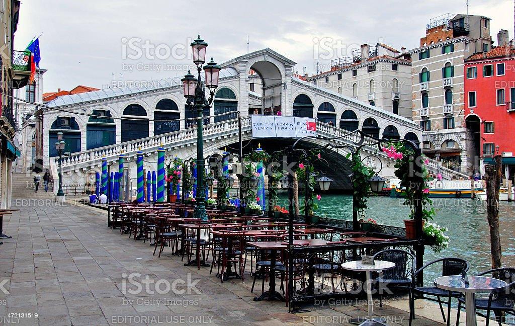 The Rialto Bridge royalty-free stock photo