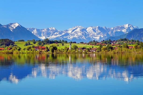 Der Riegsee in Oberbayern – Foto