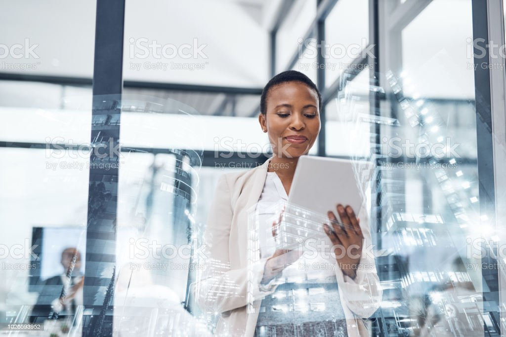 The right business apps can take you places stock photo