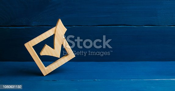 istock The right choice, the best option. The strategy of choice. Referendum, forum. Candidate for presidency. Lawmakers, Senate. A tick in government elections. Choice of candidate. The democratic process. 1050631132