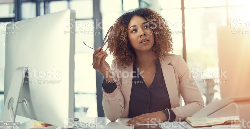 The right decision turns a plan into profit stock photo