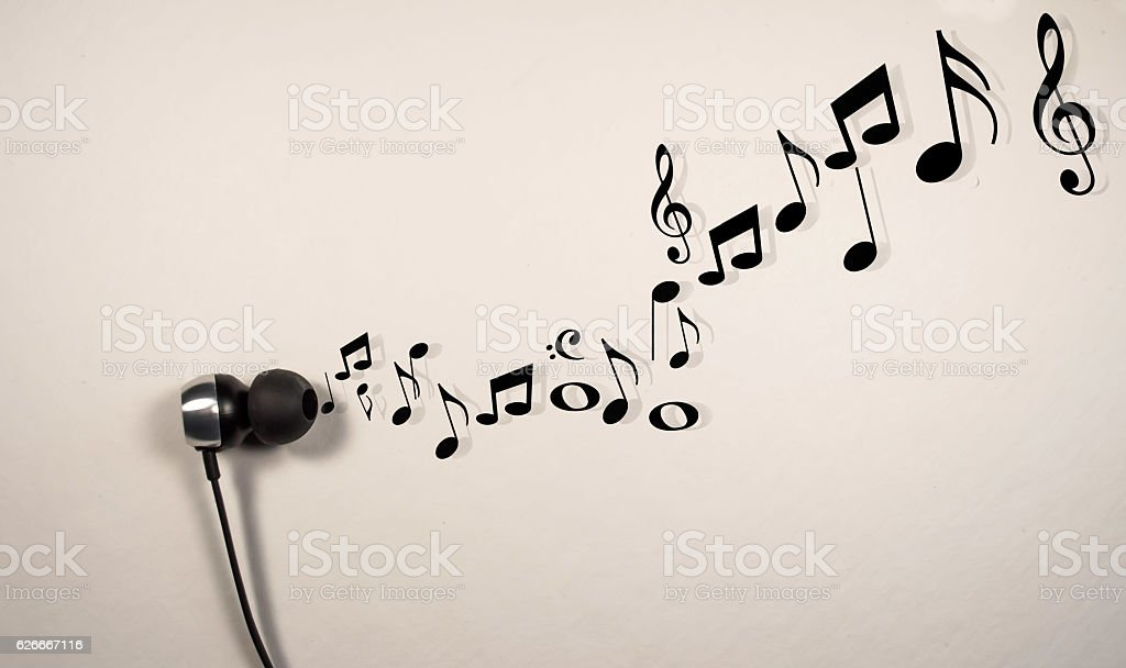 the right note stock photo