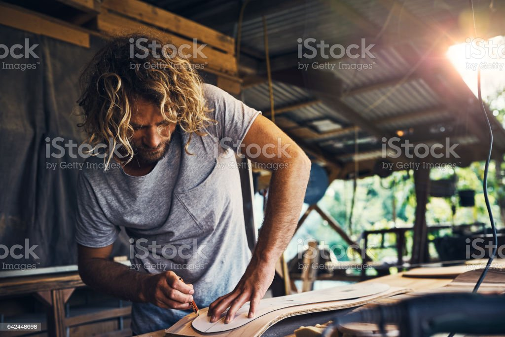 The right skateboard can change your life stock photo
