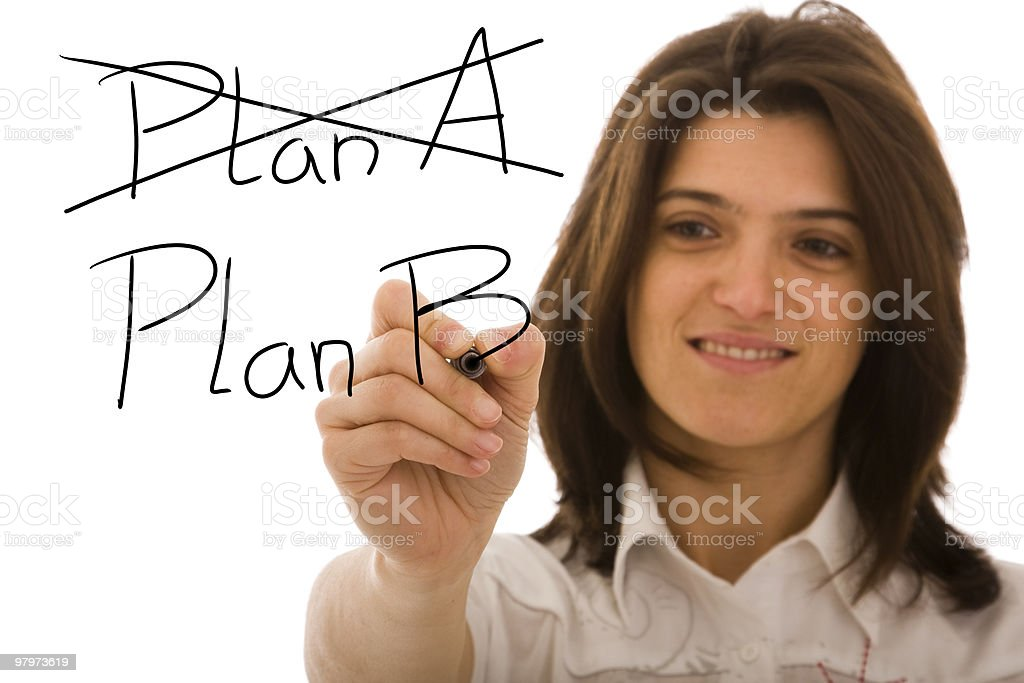 The right solution for a big problem royalty-free stock photo