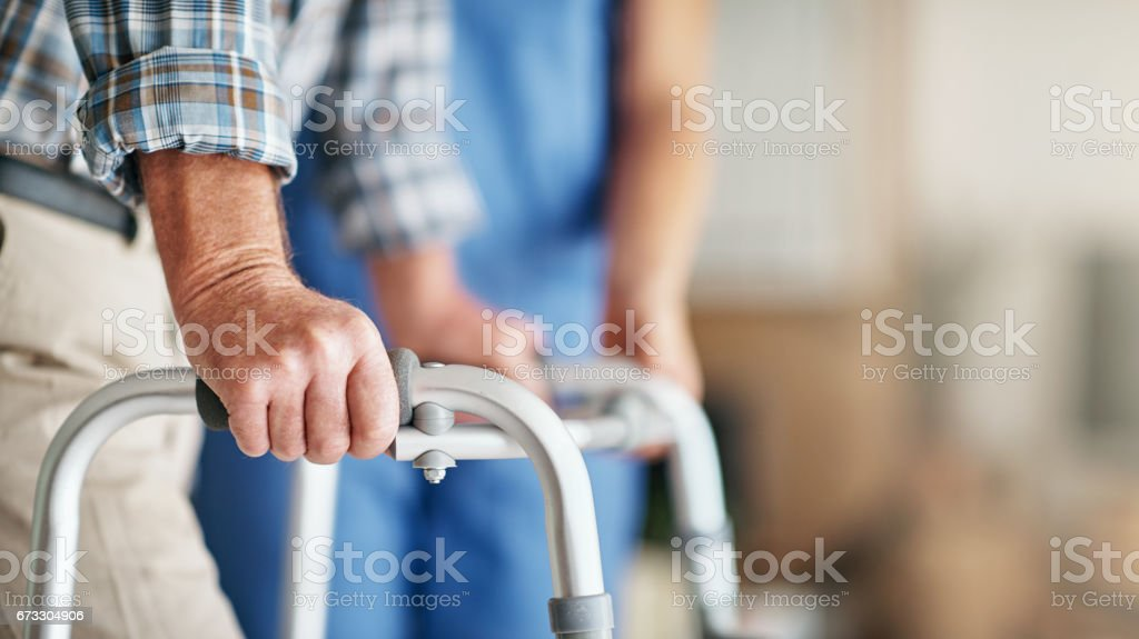 The right support will do you good stock photo