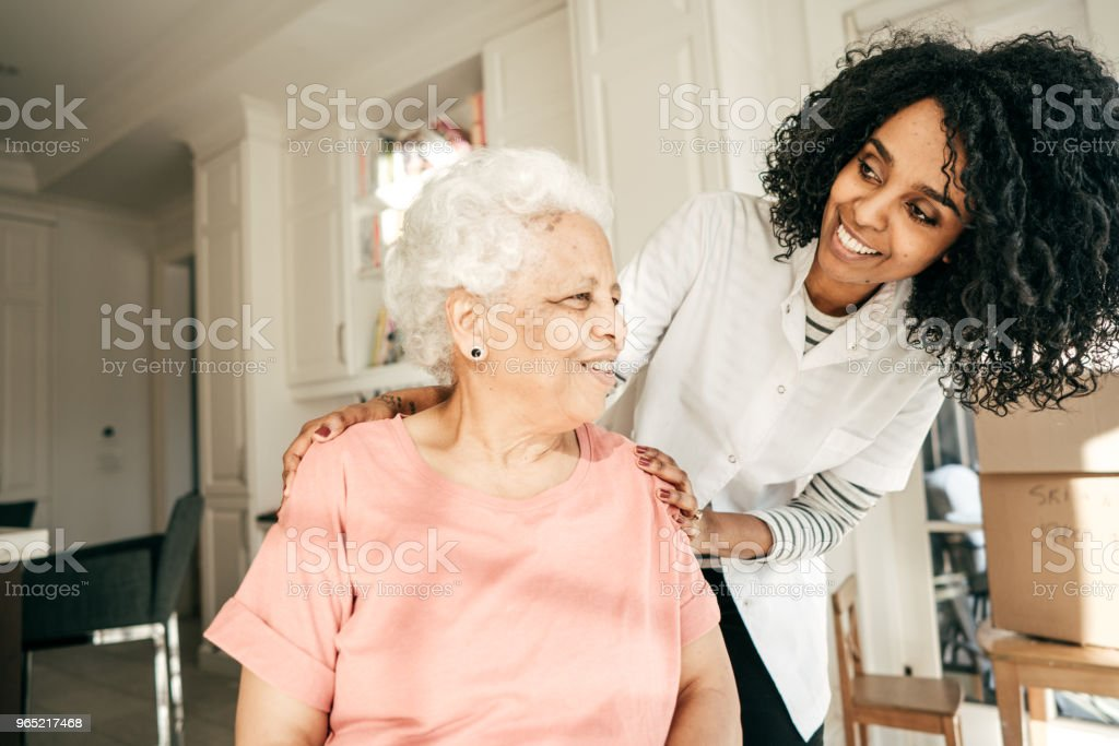 The rights of a senior citizen stock photo
