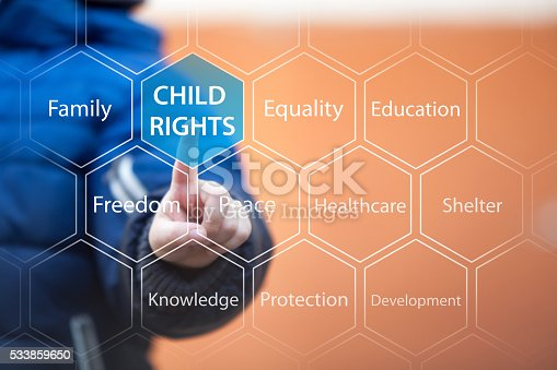 istock The rights of children. 533859650