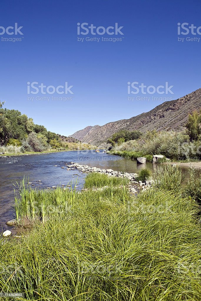 The Rio Grande royalty-free stock photo