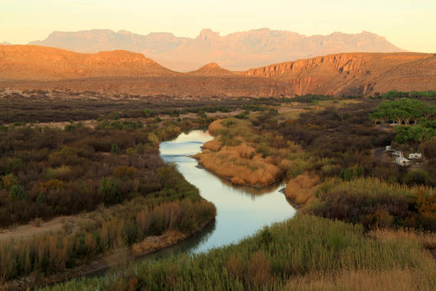 the rio grande - wilderness stock pictures, royalty-free photos & images