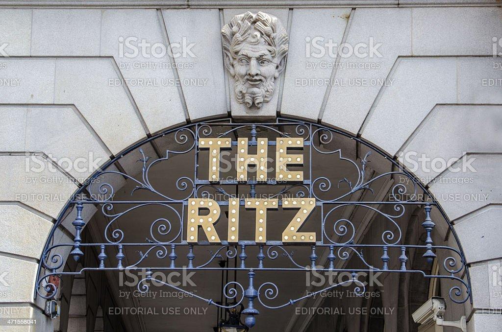 The Ritz Hotel, London stock photo
