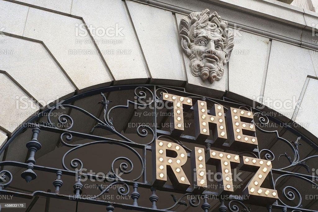 The Ritz, London stock photo