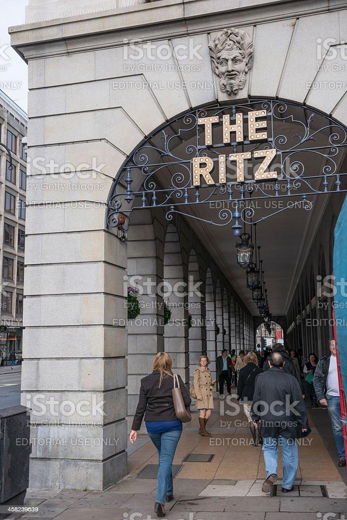 The Ritz stock photo