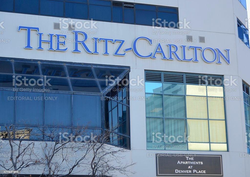 The Ritz-Carlton, Denver stock photo