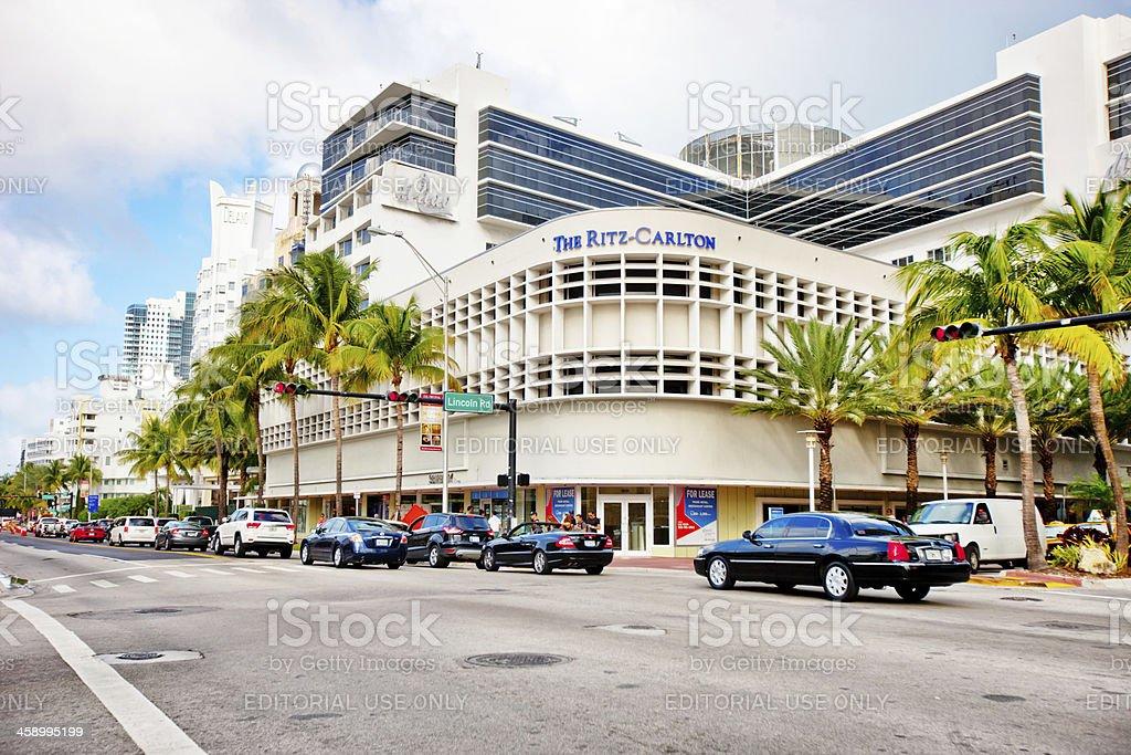 The Ritz-Carlton Hotel, Miami Beach, USA stock photo