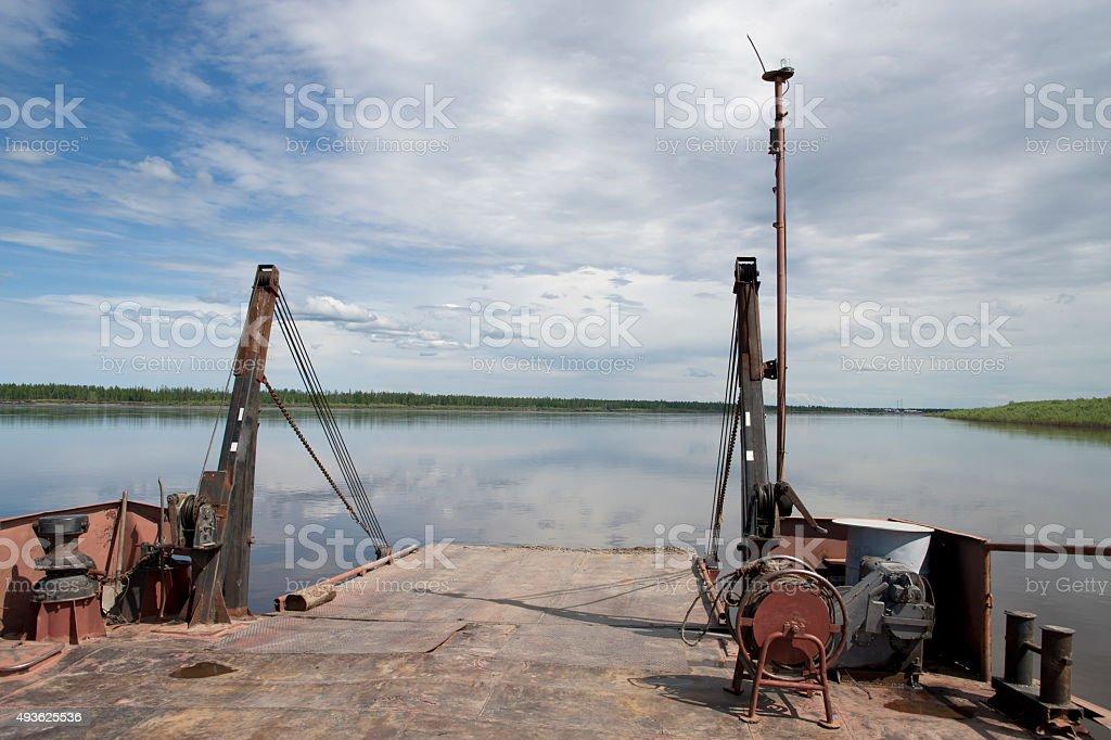 the river Adan. stock photo