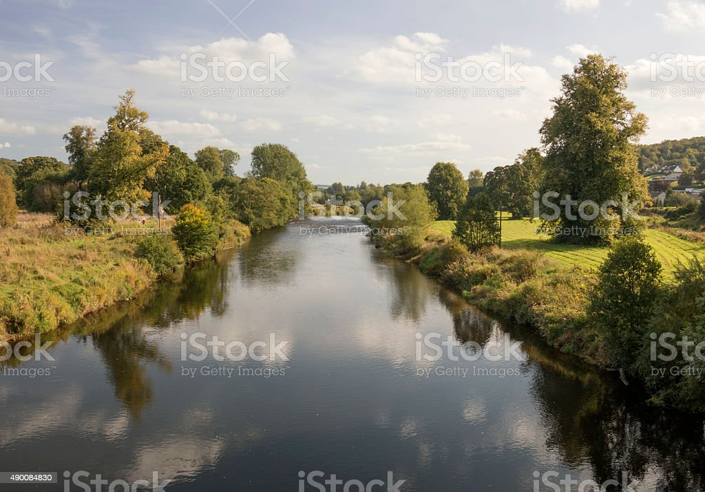 The River Clyde stock photo
