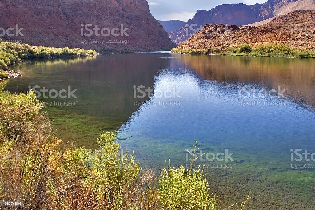 The river Colorado. royalty-free stock photo
