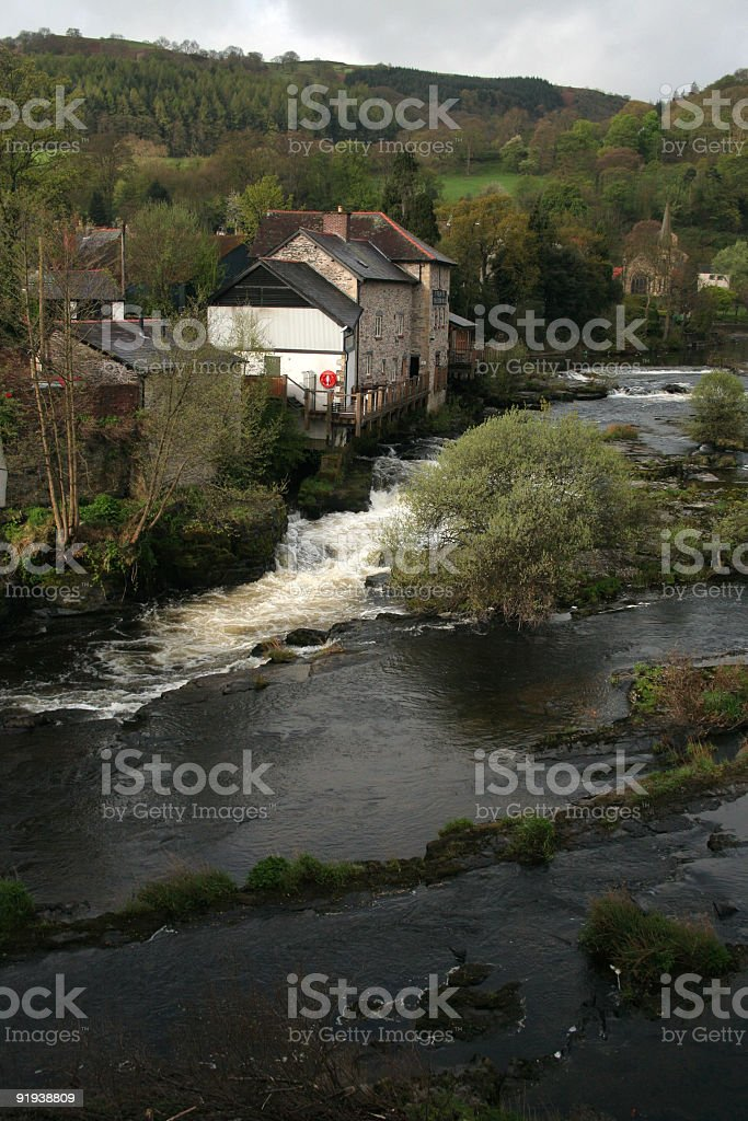 The River Dee royalty-free stock photo