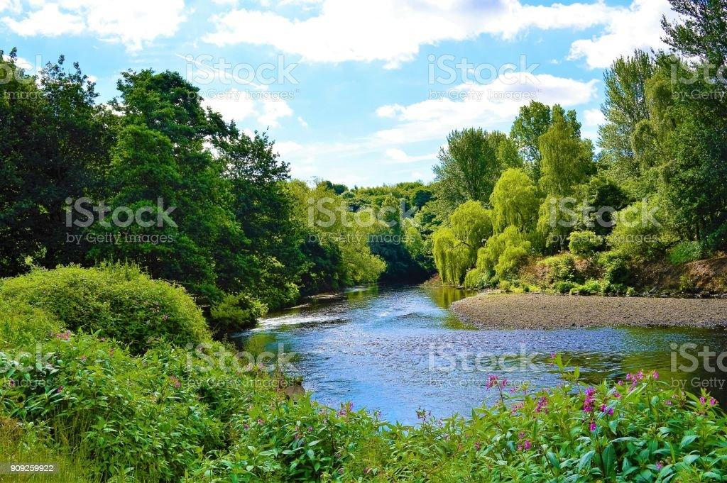 Der Fluss Irwell. – Foto