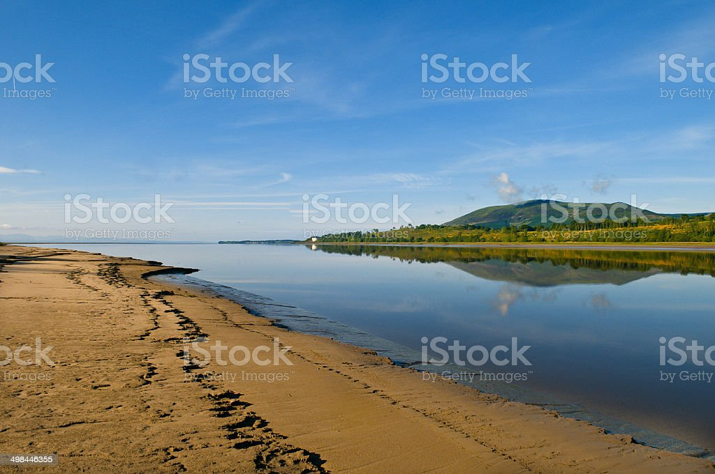 The River Nith stock photo