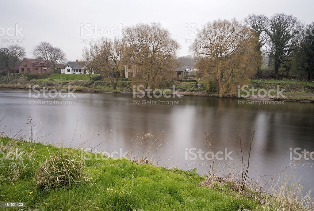 The river ribble stock photo