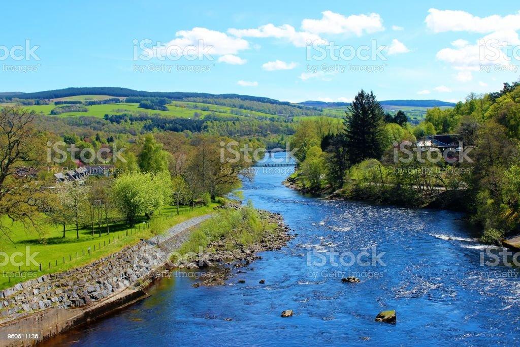 Der River Tummel. – Foto