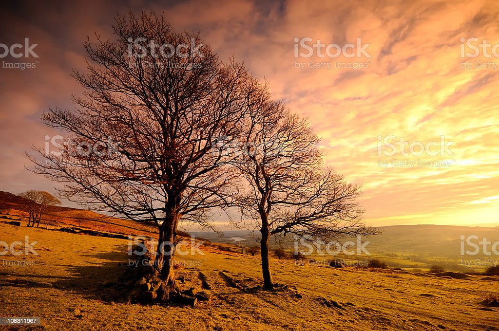 The Roaches, Peak District royalty-free stock photo