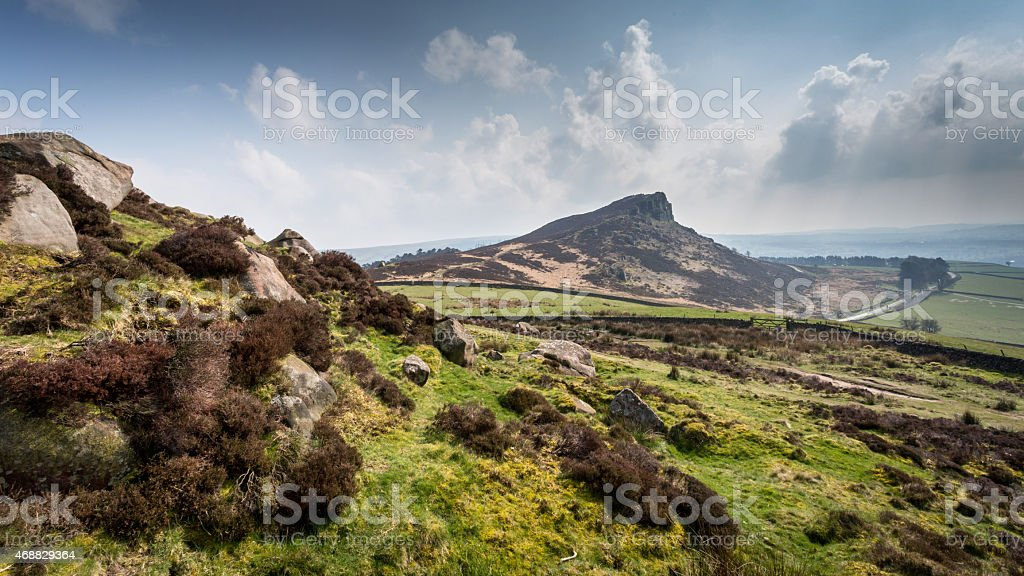 The Roaches stock photo