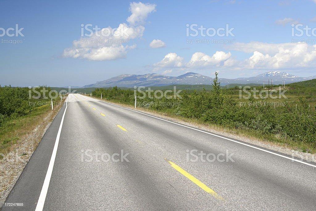 The road ahead! royalty-free stock photo