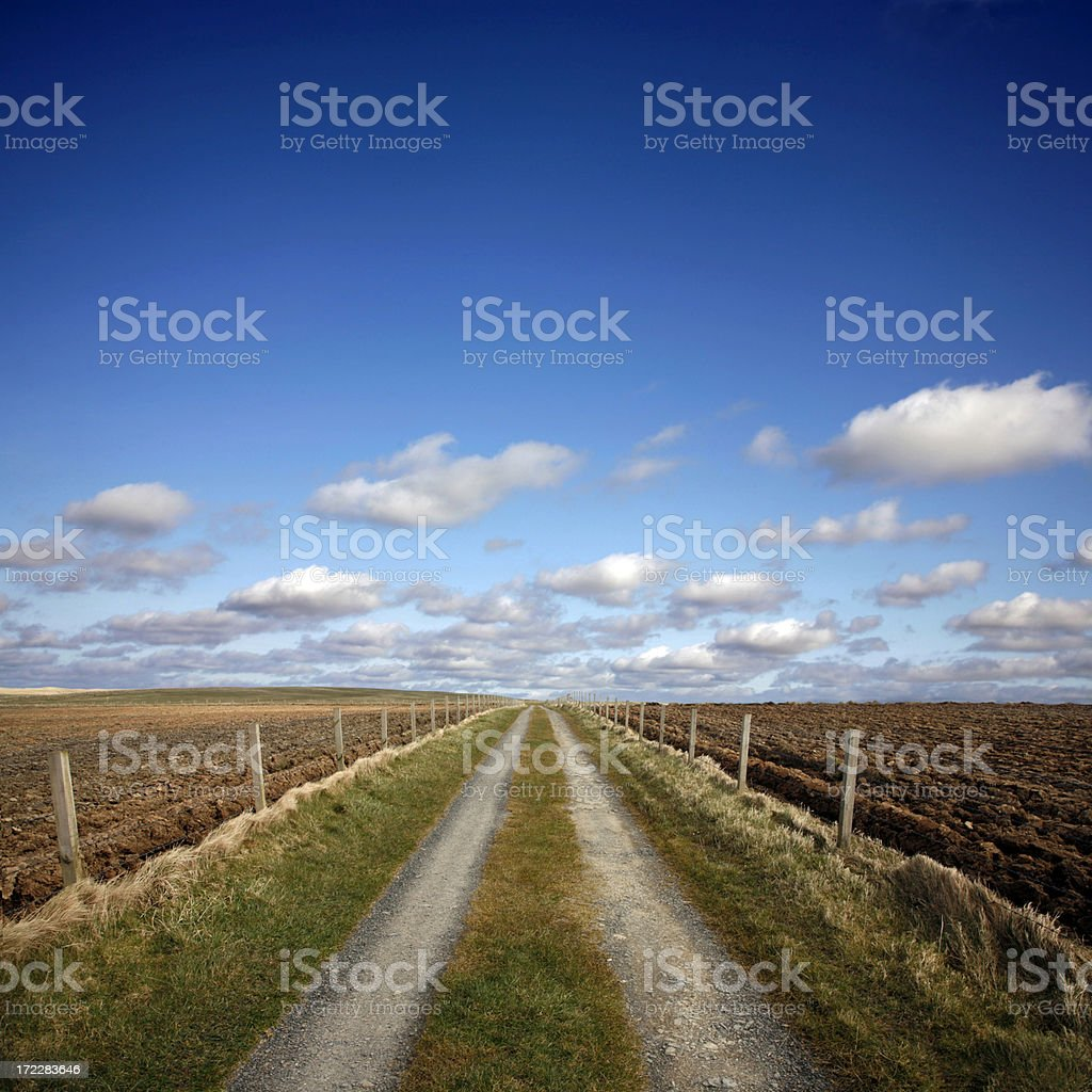 The Road Ahead royalty-free stock photo