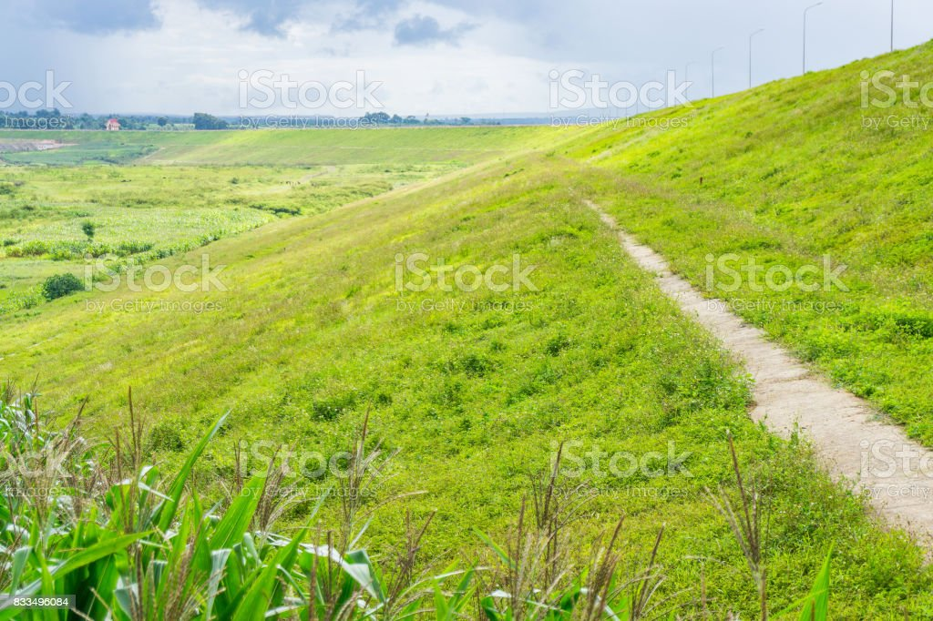 The road in country side stock photo