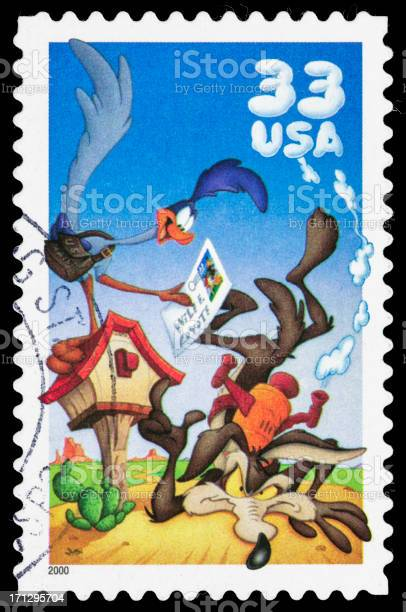 The road runner and wile e coyote postage stamp picture id171295704?b=1&k=6&m=171295704&s=612x612&h=sqmwtusobp1p3jjzgb8ml6kfsen4fbzjl3fcghwxcua=